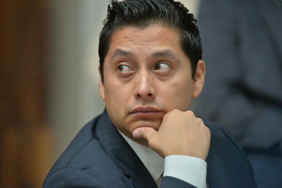 Mario Cano se molestó porque consideró injusta la imputación. (Foto: Wilder López/Soy502)