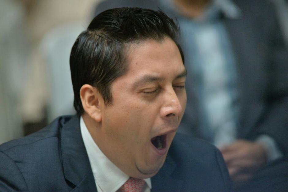 Mario Cano espera para conocer si es ligado a proceso. Por el momento, permanece en libertad. (Foto: Wilder López/Soy502)