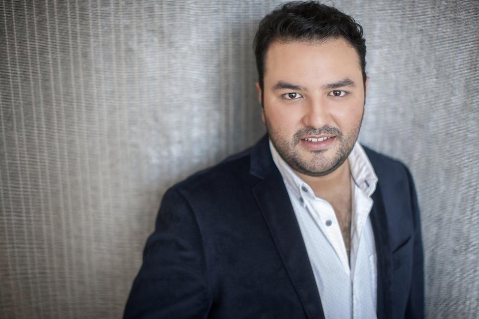 """El tenor  cantará en la obra """"El elixir del amor"""". (Foto: Mario Chang)"""