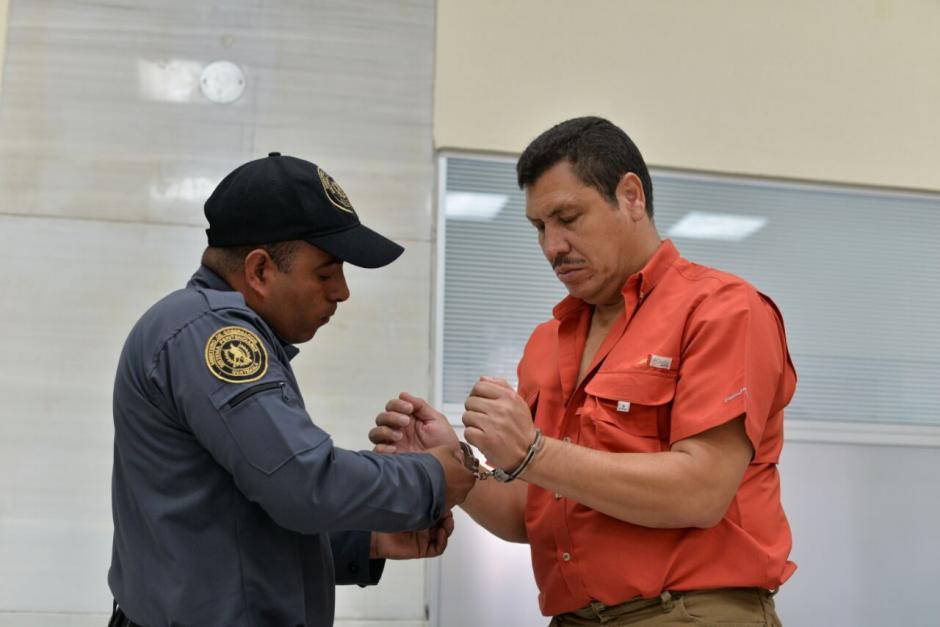 Mario Orellana, implicado también en el caso y exsuegro de José Manuel Morales, también fue beneficiado. (Foto: Wilder López/Soy502)