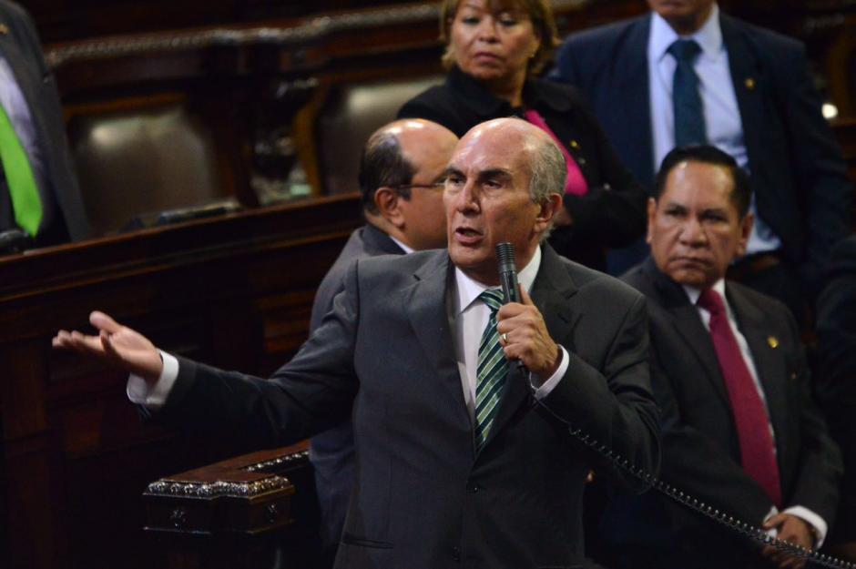 Mario Taracena denunció que intentaron sabotear la aprobación de la ley. (Foto: Jesús Alfonso/Soy502)