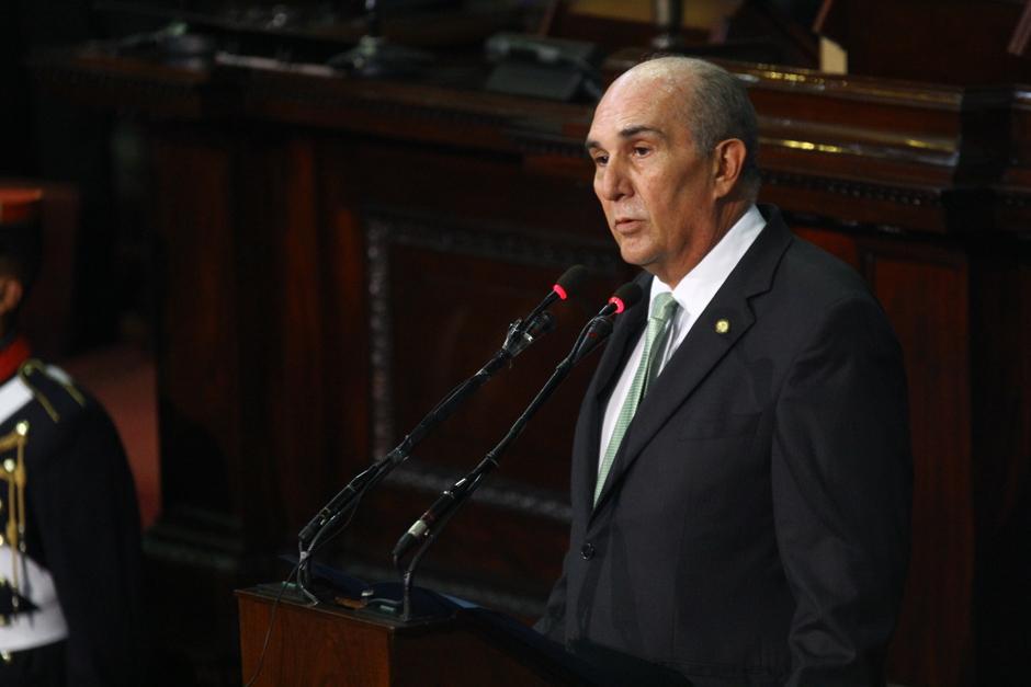 El polémico diputado, Mario Taracena, fue electo como el nuevo presidente del Congreso. (Foto: Alexis Batres/Soy502)