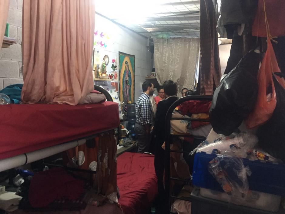 Esta es la habitación donde duerme la exfuncionaria. (Foto: cortesía José Castro)