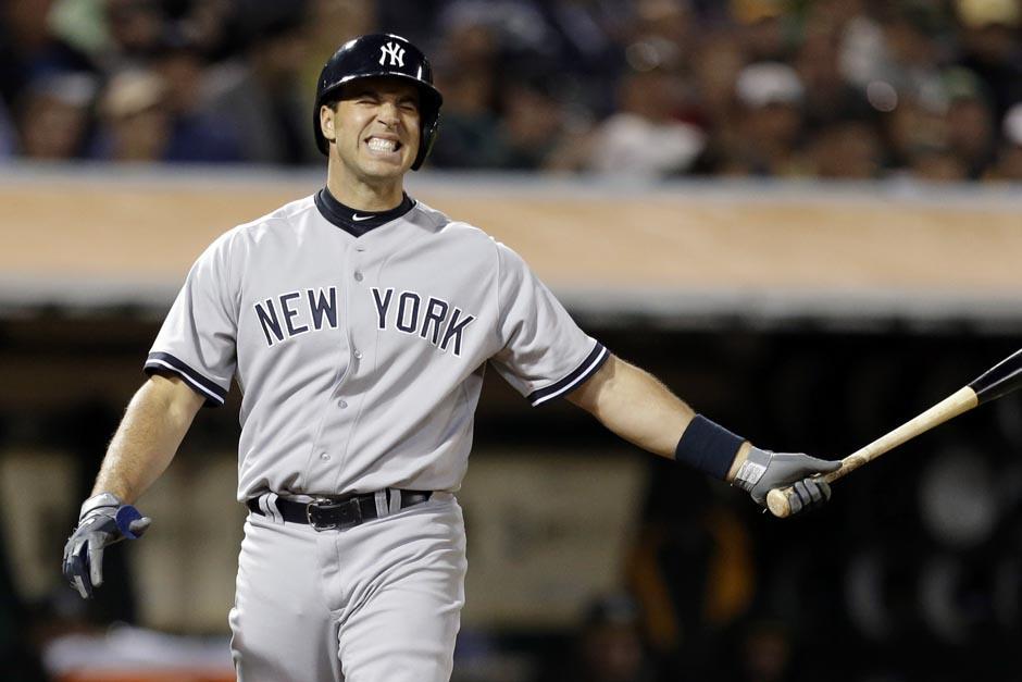 Mark Teixeira juega habitualmente en la primera base. (Foto: AFP)