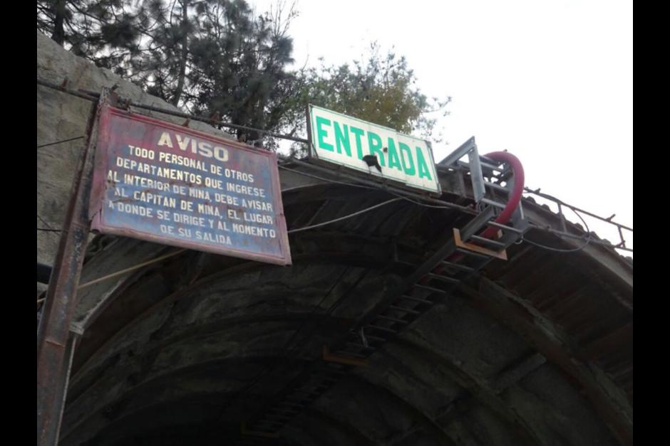 La Mina Marlin opera en el municipio de San Miguel Ixtauhacán, San Marcos. (Foto: Twitter/PDH)