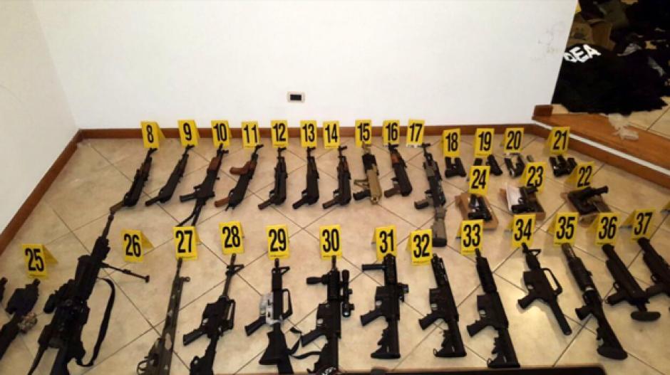 """En mayo, en una propiedad de """"M3"""", se incautó un fuerte arsenal. (Foto: Archivo)"""