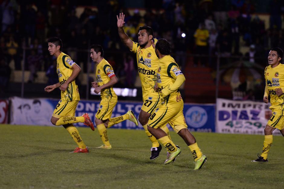 Marquense sumó su séptimo triunfo del torneo y subió a la octava posición en la tabla. (Foto: Sergio Muñoz/Nuestro Diario)