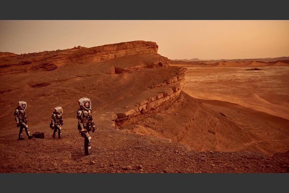"""""""Mars"""" es la historia de 2033 sobre la colonización del planeta rojo. (Foto: Fox)"""