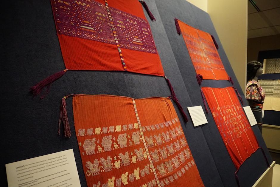 Los textiles típicos guatemaltecos están expuestos en Estados Unidos. (Foto: avenir.colostate.edu)