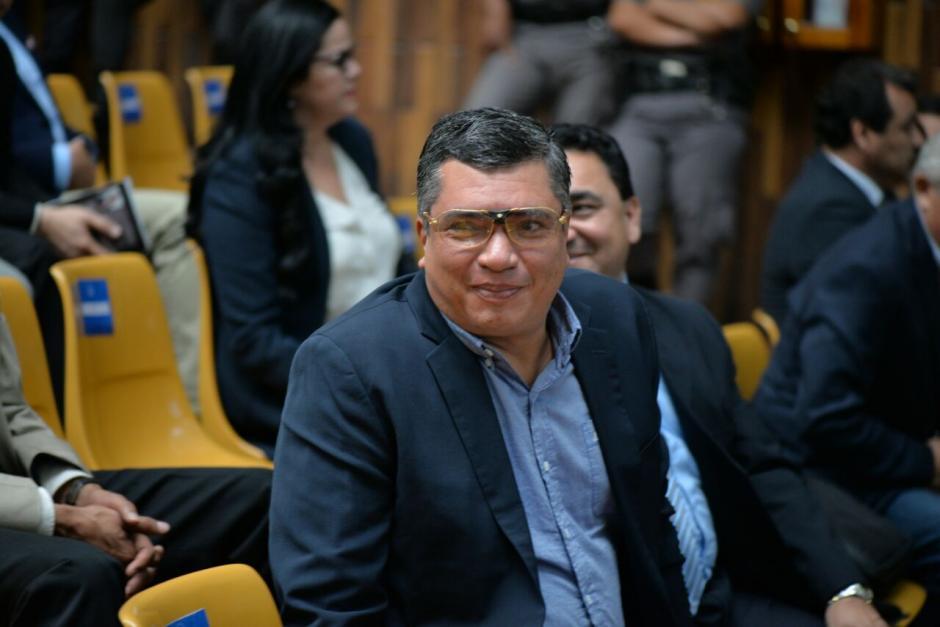 El exsecretario privado de Otto Pérez, Gustavo Martínez. (Foto: Wilder López/Soy502)