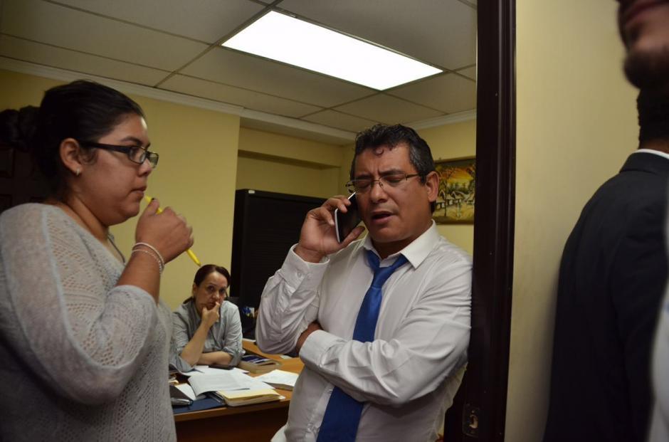 Marvin Orellana tuvo un problema con Taracena por la oficina que utilizaba Rabbé. (Foto: Archivo/Soy502)
