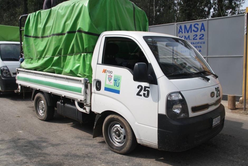 El Vertedero de basura de Villa Nueva recibió los desechos de la capital. (Foto: Facebook/ AMSA Guatemala)