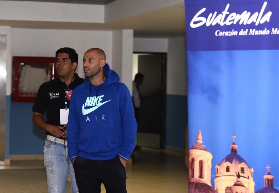 Mascherano dictará unas clínicas sobre fútbol. (Foto: Sergio Muñoz/Nuestro Diario)