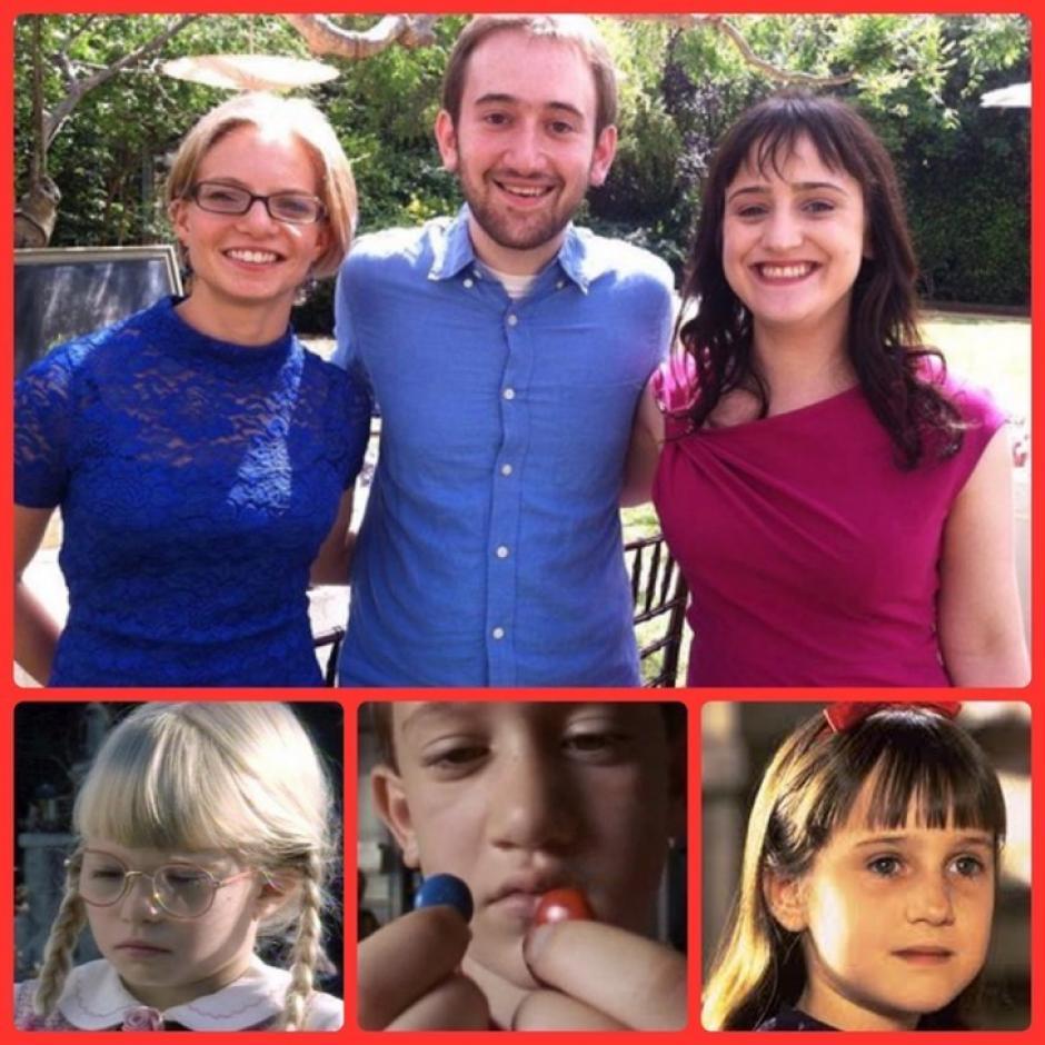 Hace muy poco se reunió con el elenco de Matilda. (Foto: fashiold.com)