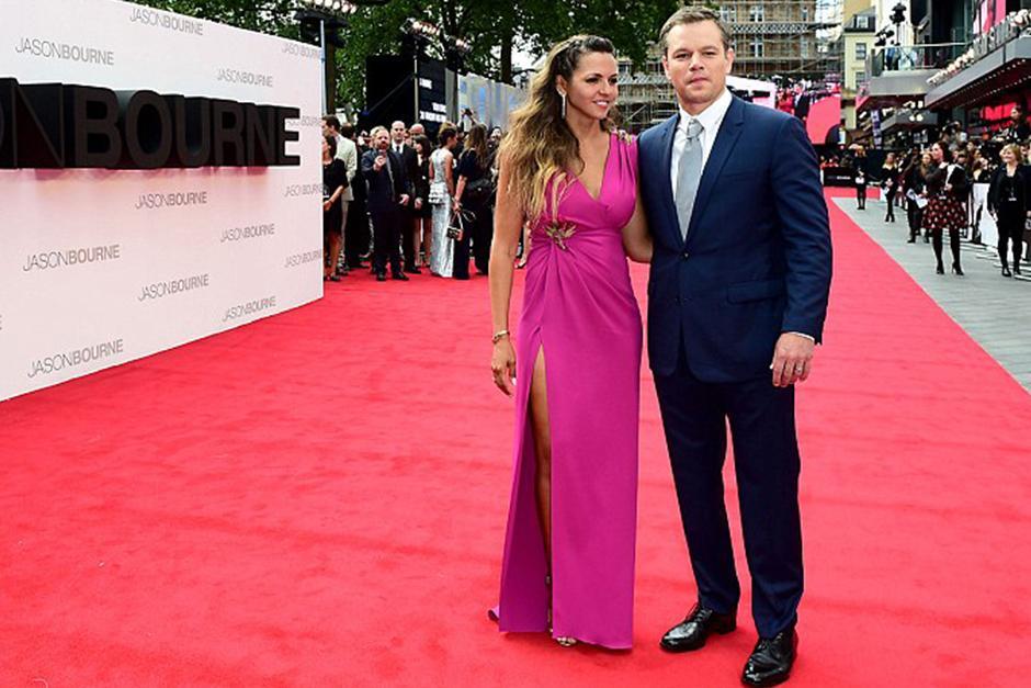 El lunes en la noche fue la alfombra roja de la película Jason Bourne. (Foto: Jon Furniss)
