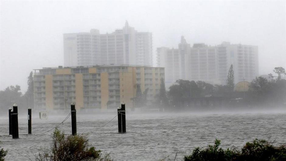 En Daytona Beach se reportaron inundaciones. (Foto: lanacion.com.ar)