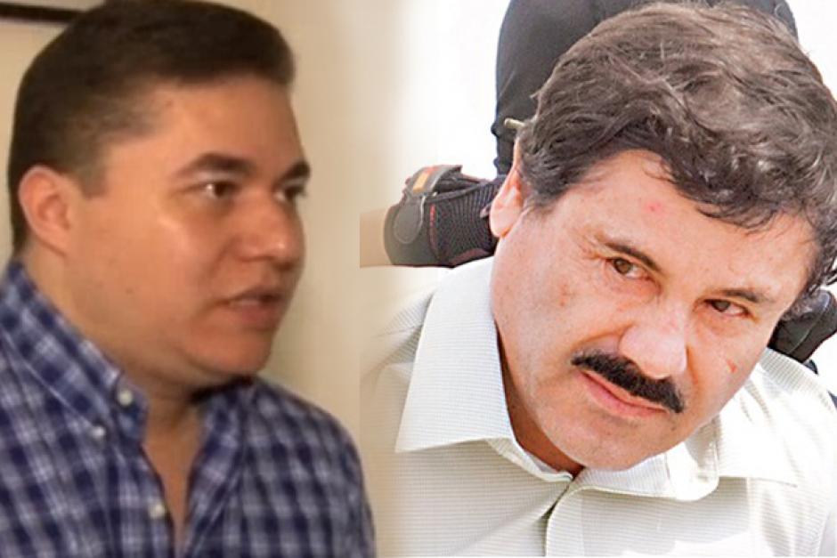Mauricio Pérez y Joaquin el Chapo Guzmán soy502 foto