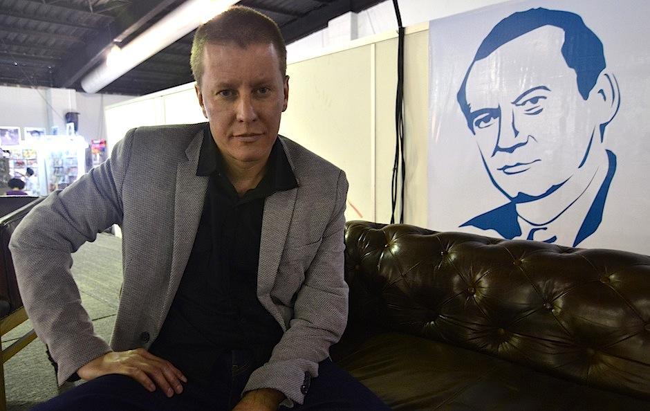 El escritor, poeta y periodista fue premiado por el Fondo de Cultura Económica. (Foto: Selene Mejía/Soy502)
