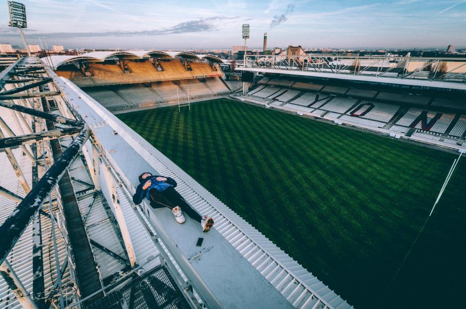 El joven fotógrafo francés acostumbraba hacer capturas desde puntos muy altos. (Foto: infobae.com)