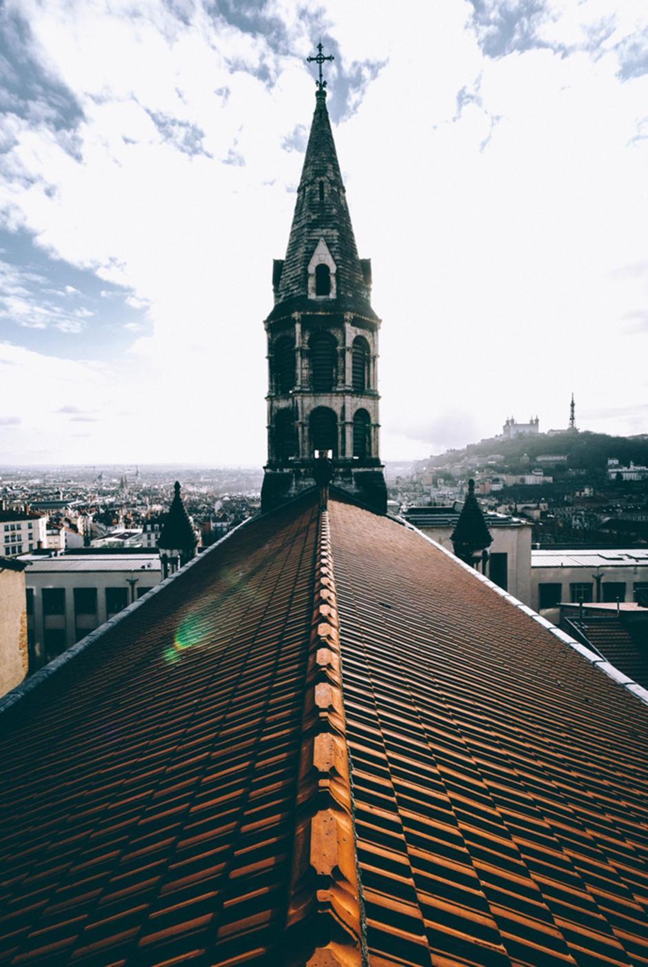 Los tejados también estaban en su lista de lugares favoritos. (Foto: infobae.com)