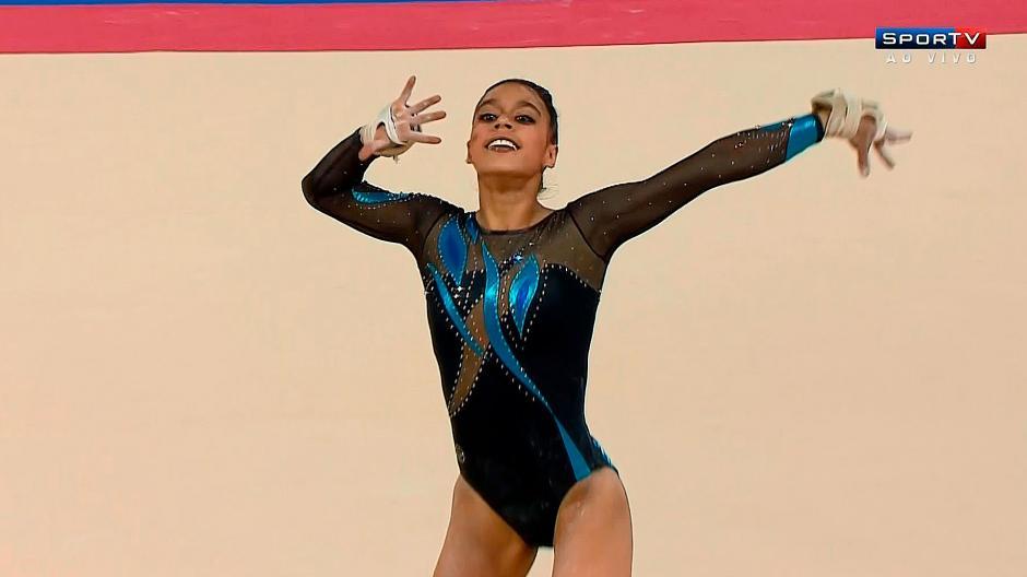 Ana Sofía Gómez es la máxima referente de la gimnasia femenina en Guatemala. (Foto: Twitter)