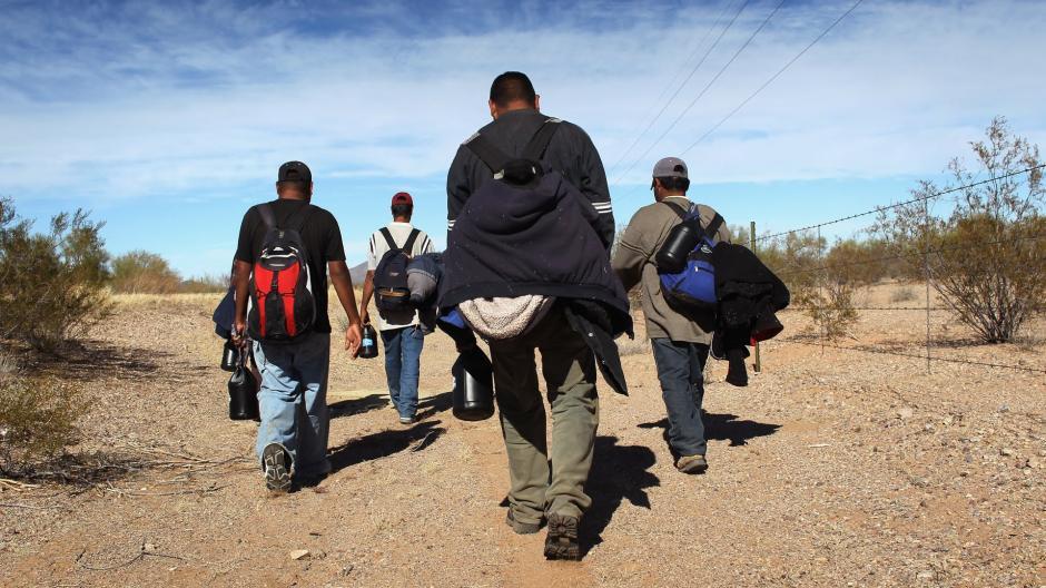 Las autoridades han registrado mayor número de personas que intentan cruzar la frontera hacia Estados Unidos. (Foto: CNN)