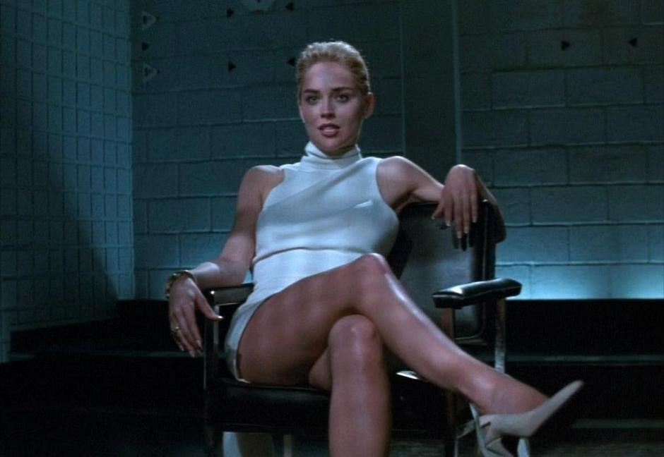 """Sharon Stone, consiguió la gloria en Hollywood, luego de protagonizar """"Bajos instintos""""."""