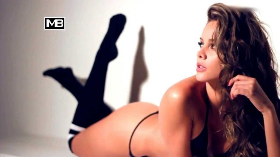 Alejandra Buitrago, la modelo que cree que Messi es colombiano.