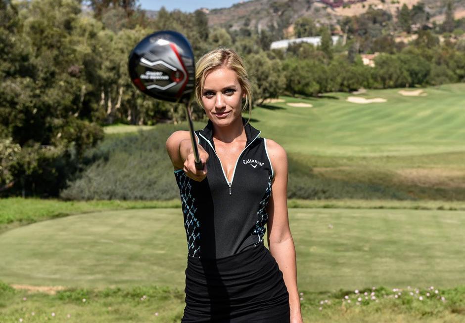 La joven golfista se ha entrenado constantemente para lograr buenos resultados.(Foto: Paige Spiranic)