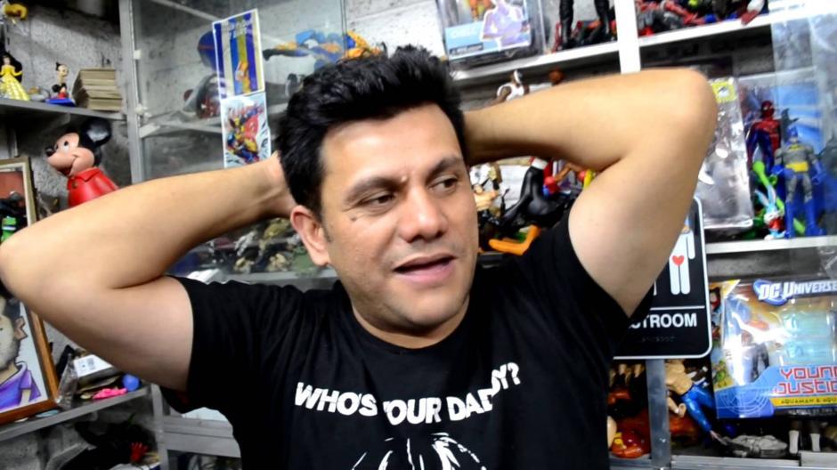 Ronald Mackay es un reconocido bloguero guatemalteco que también trabaja en radio