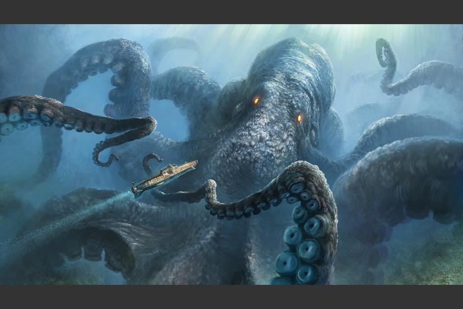 """Las cámaras de Google Earth podrían haber captado a un monstruo comparado con la criatura mitológica llamada """"Kraken"""""""