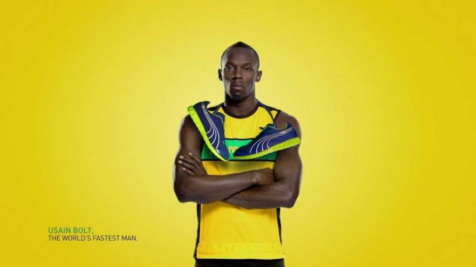 Usain Bolt gana varios millones de dólares en concepto de publicidad. (Foto: Puma)