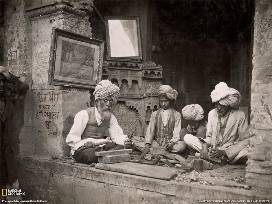Owen fotografió las culturas más lejanas e inexploradas para la época. (Foto: Maynard Owen/National Geographic)
