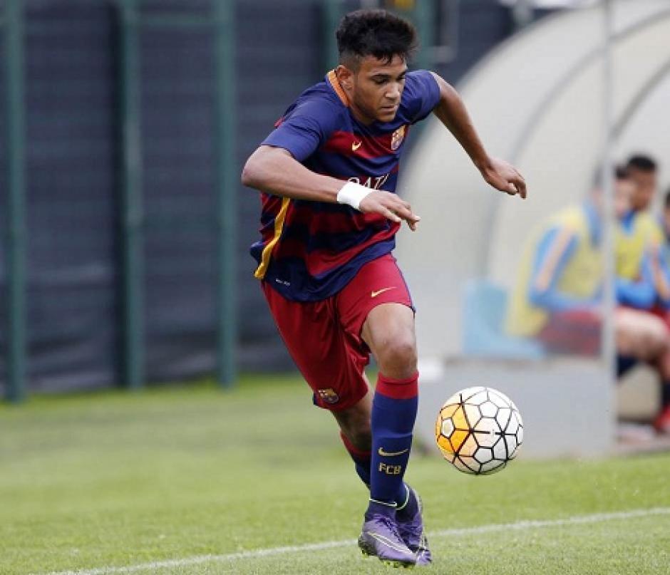 Jordi Mboula es una de las promesas del FC Barcelona. (Foto: Twitter)