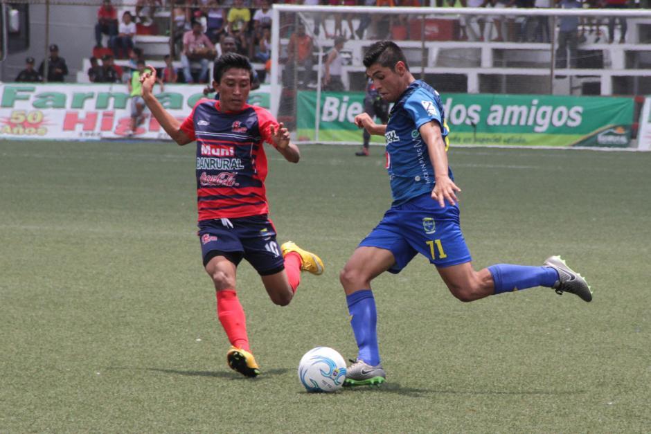 Malacateco está un punto abajo de la Universidad en la pelea por salir del descenso. Foto: Prensa Municipal)