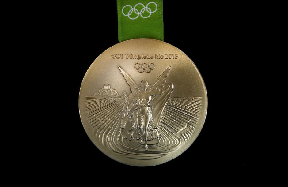Detalle de una de las medallas que son entregadas en los Juegos Olímpicos de Río 2016. (Foto: taringa.net)