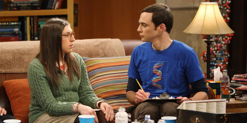"""La relación entre Amy y Sheldon dará un giro en el próximo capítulo de """"The Big Bang Theory"""". (Foto: Daily Mail)"""