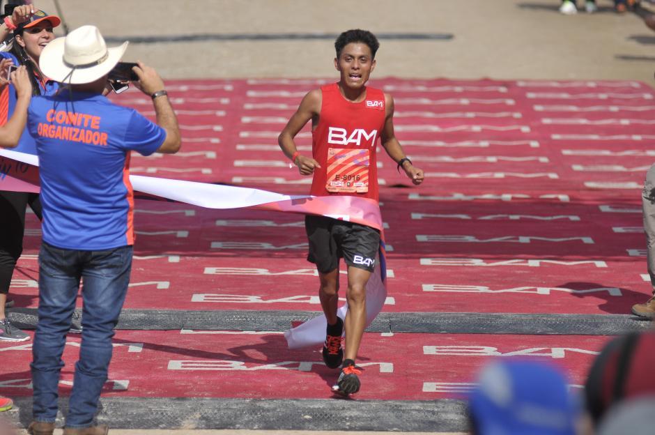 William Julajuj fue el guatemalteco con mejor participación. (Foto: Byron de la Cruz/Nuestro Diario)