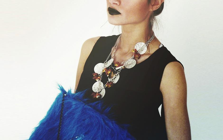 Los collares reflejan un toque nacional, que se adapta a la moda global. (Foto: Médium oficial)