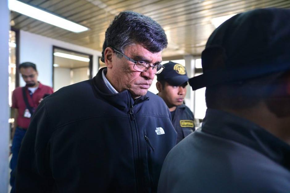 Medrano fue capturado en la Torre de Tribunales por la Policía Nacional Civil. (Foto: Wilder López/Soy502)