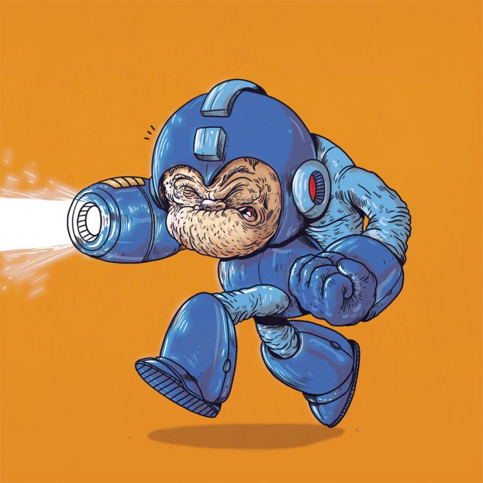 Las aventuras siempre están primero para Mega Man. (Foto: Alex Solis)
