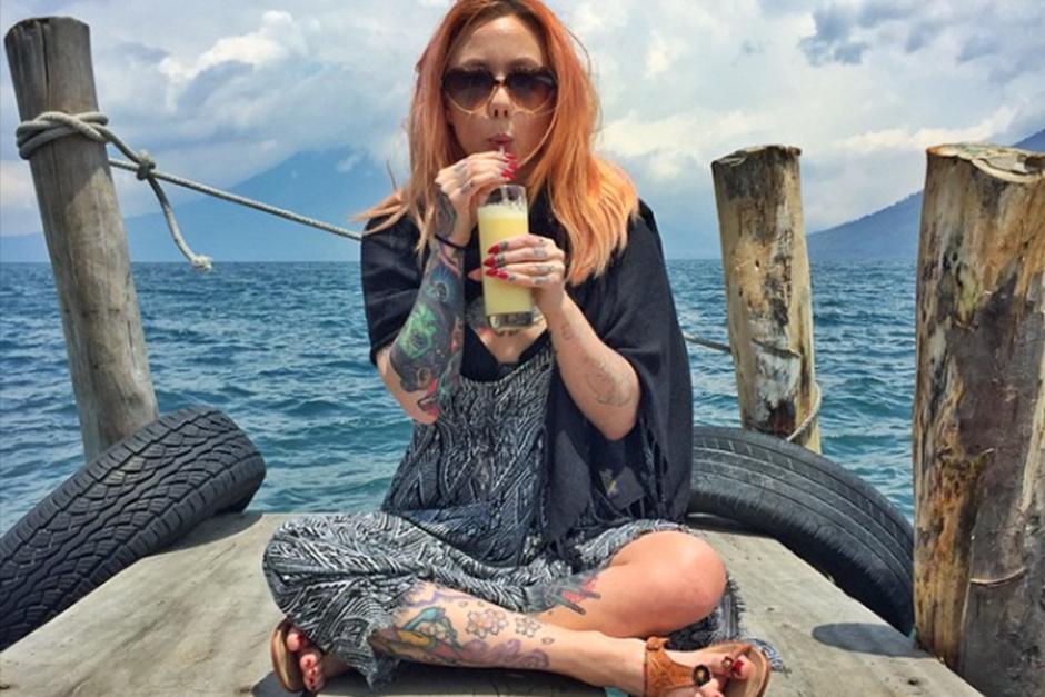 Este sería el tercer año consecutivo que la tatuadora visita Guatemala. (Foto: Instagram)