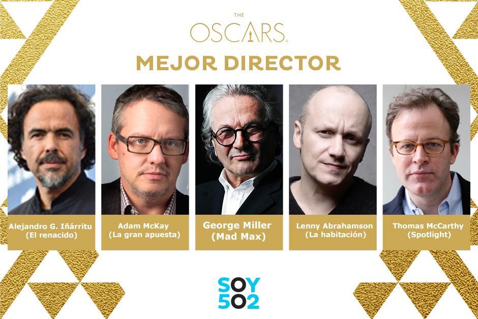 El Mejor Director 2016.