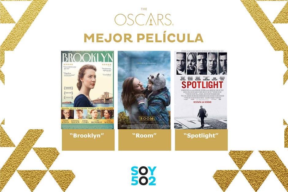 Estas son las nominadas a Mejor Película