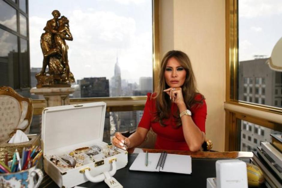 La vida de Melania Trump es igual a la de una reina. (Foto: Melania Trump)