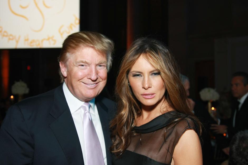 Melania se casó con Donald Trump en enero de 2005. (Foto: bustle.com)