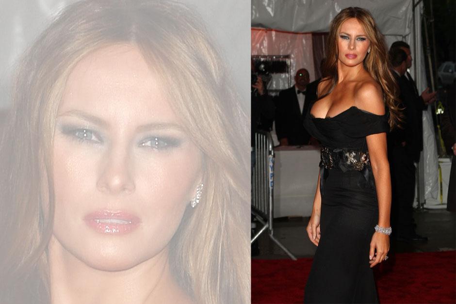 Melania Trump fue conocida como una cotizada modelo.