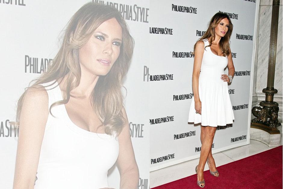 La modelo es conocida por su elegancia.