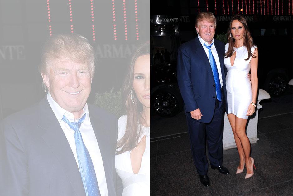 La relación Donald-Melania inició en 2004.