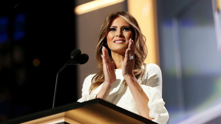 La esposa de Trump es una exmodelo de origen Armenio. (Foto: thewee.co.uk)